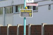 Radar v pelhřimovské Nádražní ulici