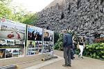 Výstava ve Valdštejnské zahradě potrvá do 1. října.