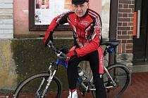Hornocerekvický cyklista Josef Frey