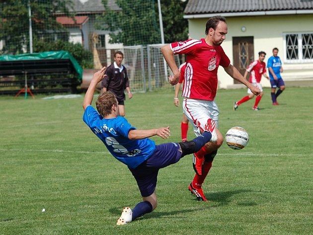 Křivsoudov udělil lekci domácím a postoupil do finále. Pro tým z okresního přeboru to byl bezesporu úspěch.
