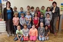 Na fotografii jsou žáci ze ZŠ Hradská Humpolec, třída 1. C paní učitelky Zdeňky Závodské.