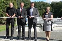 Pacov se ve čtvrtek dočkal slavnostního otevření zmodernizované čistírny odpadních vod. Její rekonstrukce trvala patnáct měsíců a vyšla na šedesát milionů korun.