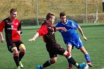 Třicet čtyři bodů z šestatřiceti možných získali fotbalisté Humpolce v jarní části krajského přeboru. Navíc hráli ofenzivní fotbal, což potvrzuje průměr 3,25 vstřeleného gólu na zápas.