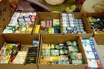 Potravinovou sbírky v Hranicích uspořádala Charita Hranice v sobotu 21. listopadu.