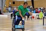František Serbus je jednou z hlavních opor Sportovního klubu Jedličkova ústavu . Navzdory těžké formě dětské mozkové obrny je všestranným sportovcem.