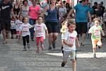 Běh pro úsměv v centru Pelhřimova.