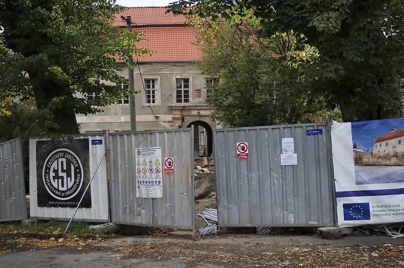 Zámek v Červené Řečici.