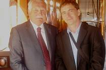 Minipivovar navštívil i prezident Klaus.