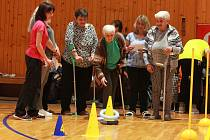 5. sportovní hry seniorů v Humpolci.