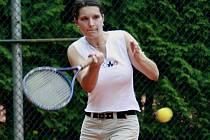 Pelhřimovská Kateřina Hrušková uhrála cenný bod a přispěla k vítězství nad Humpolcem v poměru 5:4.