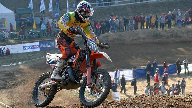 Motokros se v Pacově jezdí už více než pětatřicet let. V dubnu se zde jelo Mezinárodní mistrovství České republiky v motokrosu.