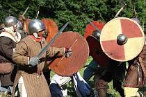 V Ledči proti sobě bojovali rozzuření vikingové