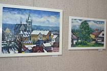 Už jen do čtvrtka si budou moci milovníci umění prohlédnout výstavu obrazů Josefa Sztacha.