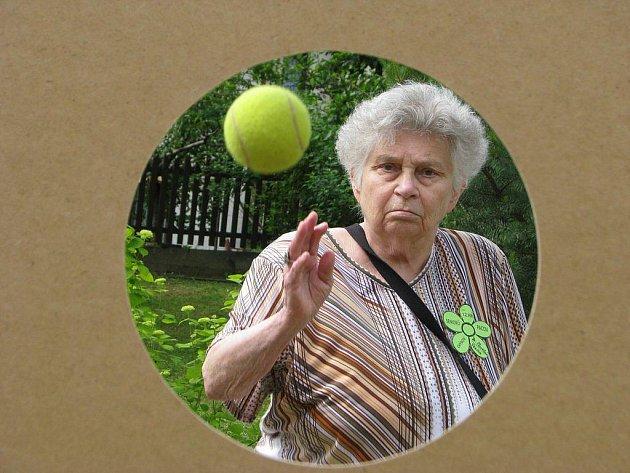 Seniorské hry v Pacově.