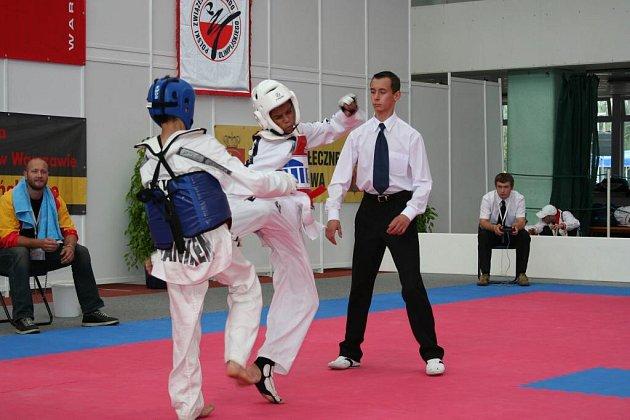 Bruno de Oliveira Manuel (vpravo) vybojoval ve Varšavě bronzovou medali, která mu přihrála nominaci na juniorské mistrovství Evropy.