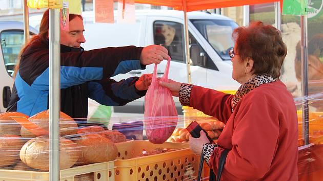 Farmářské trhy v Pelhřimově letos nebudou.