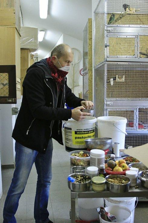 Chovatel Libor Růžička.
