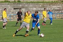 Hra s ohněm. Fotbalisté Humpolce B si nechali ve druhém poločase zápasu se Ždírcem vstřelit během pár minut čtyři góly a málem přišli o body.