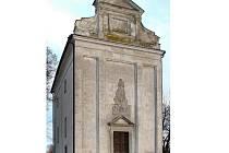 Kaple Panny Marie Bolestné v obci Kámen.