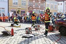 Profesionální hasiči v Pelhřimově slaví půl století činnosti.
