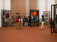 Nejen sochy, loutky a obrazy mohou  vidět  návštěvníci Pacova.