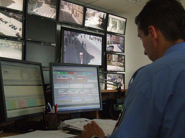 Tento systém na snímku provozuje Městská policie Jihlava. Díky němu se už v minulosti podařilo odhalit pachatele některých krádeží