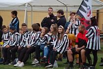 Část fanoušků Obrataně dorazilo v dresech.
