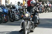 Historicky nejvyšší účast milovníků jízdy na silných motorkách zaznamenala sobotní Jarní Vyjížďka. Ta se konala v Humpolci už pošesté.