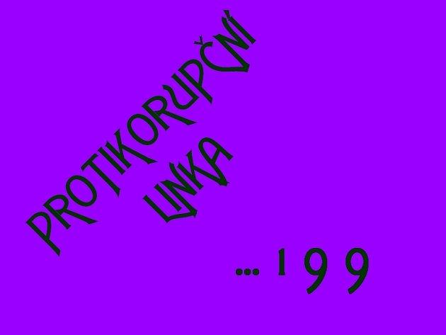 Proti korupční linka 199