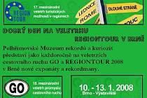 Pozvánka do Brna na Veletrh Regiontour 2008