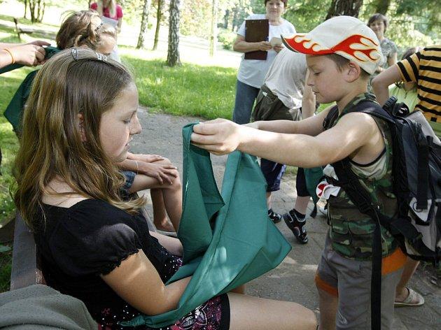 V pelhřimovských sadech soutěžili mladí zdravotníci