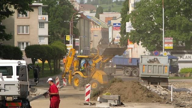 Rekonstrukce Kamarytovy ulice v Humpolci