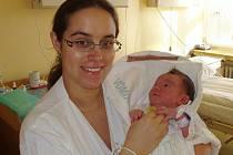 Zuzana Pospíchalová, 23. prosince 2009, Košetice, 3 360 g
