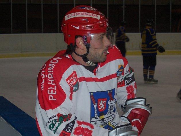 Marek Digrin si ve Slaném připsal tři body a patřil mezi opory týmu.