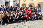 Nejen obyvatelé Pelhřimova se v pondělí zapojili do Papučového dne.
