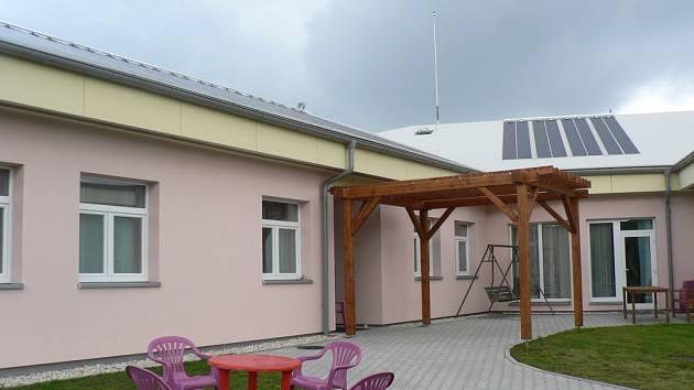 nízkoenergetický dům pro klienty Ústavu sociální péče v Lidmani