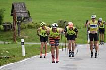 Závody na kolečkových lyžích budou k vidění ve Vysočina Areně.