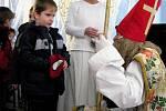 Mikuláš, anděl a čerti na zámku v Kamenici nad Lipou