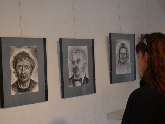 Už jen do konce března je ve výstavním sále na zámku v Kamenici nad Lipou k vidění výstava obrazů Jany Topinkové-Medkové.
