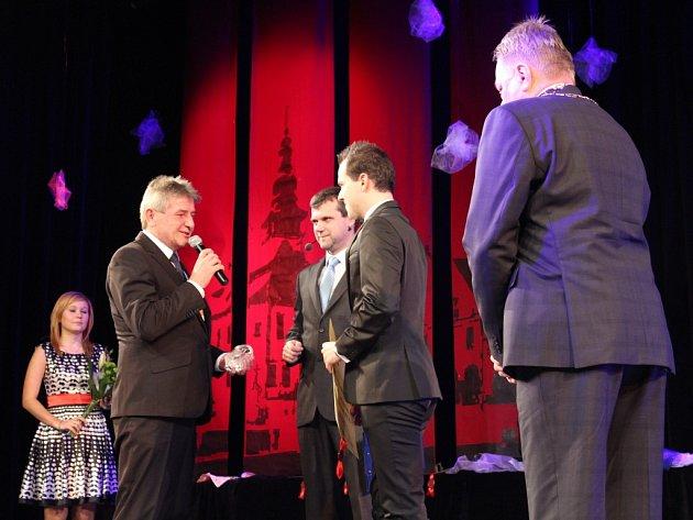 V kategorii Sportovci získal v loňském roce cenu města Pelhřimova iVáclav Žoudlík.