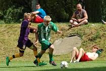Fotbalisté Kamenice nad Lipou se v Černovicích museli spokojit s druhou příčkou.