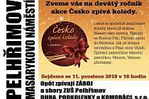 Česko zpívá koledy v Pelhřimově.