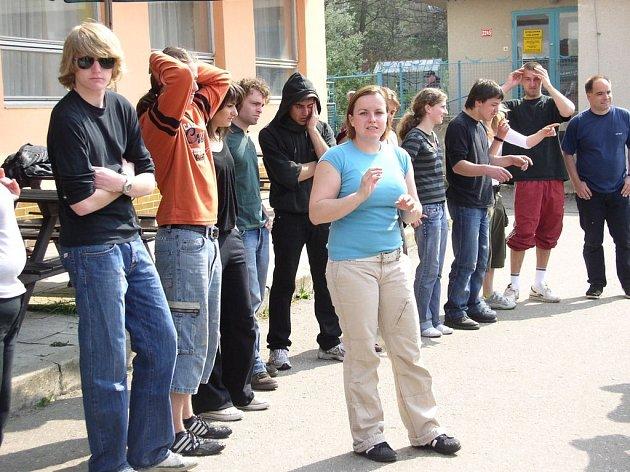 Mladí Evropané v Pelhřimově