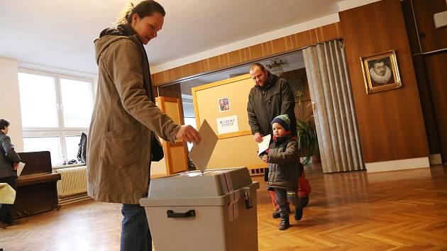 Volby 2018 v Černovicích.