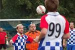 Fotbalisté Budíkova před týdnem doma odevzdali body Senožatům. Tentokrát se jim dařilo více, vyhráli 2:0 v Božejově.