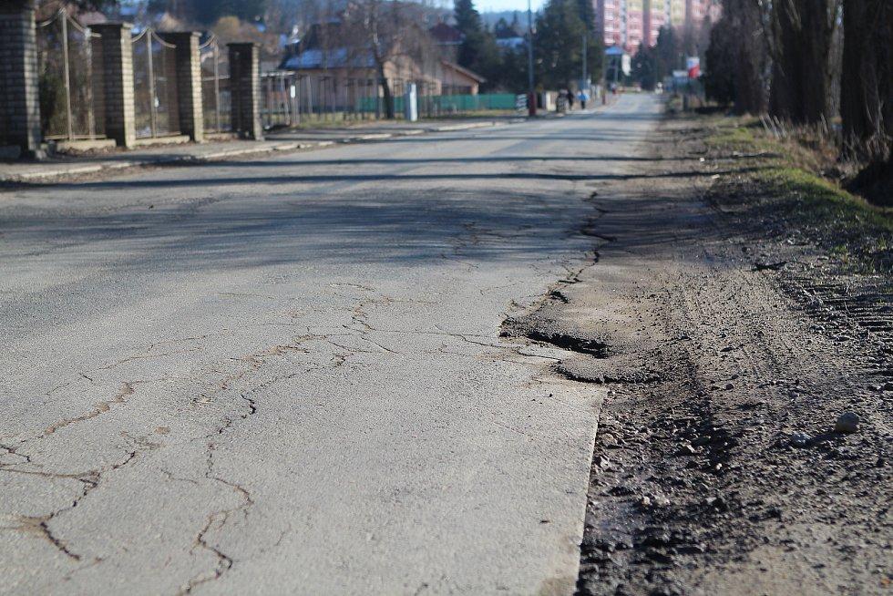 Ulice Lužická Humpolec