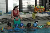 Plaveckou výuku v pelhřimovském bazénu aktuálně navštěvuje 1500 dětí.
