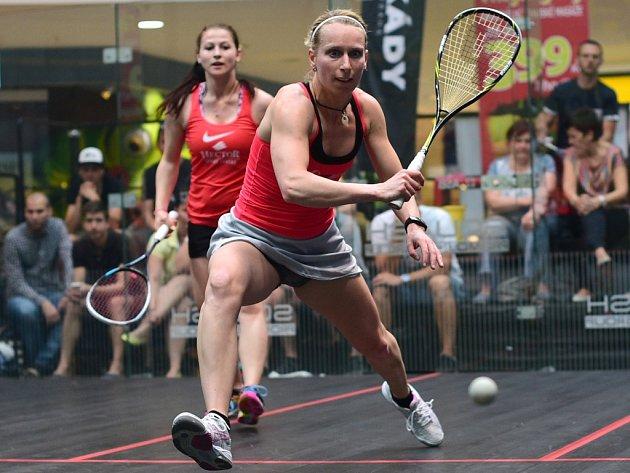 Jedním z největších squashových úspěchů Lucie Kubáňové jsou tituly mistryně republiky v týmech. Slavila je v letech 2009 a letos. V obou případech v barvách Haštal W Fotorobot.
