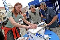Den s Deníkem - 12. května 2008 - Horní náměstí Humpolec