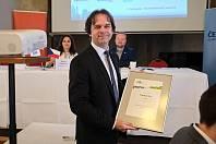 Karel Kratochvíl přebíral ocenění za prvenství ve srovnávacím výzkumu Město pro byznys jako starosta Humpolce poprvé.